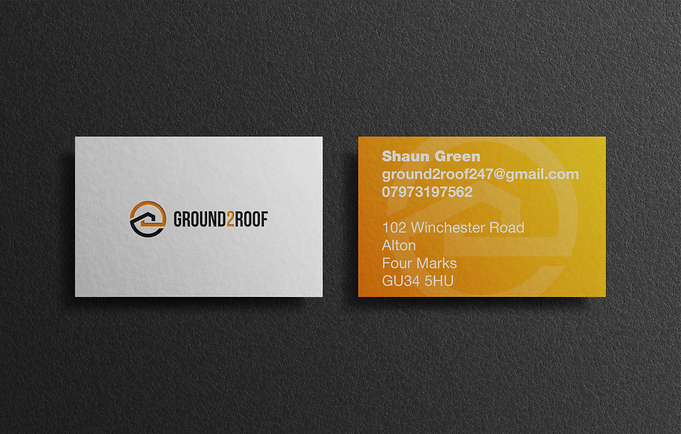 Ground2Roof Business Cards