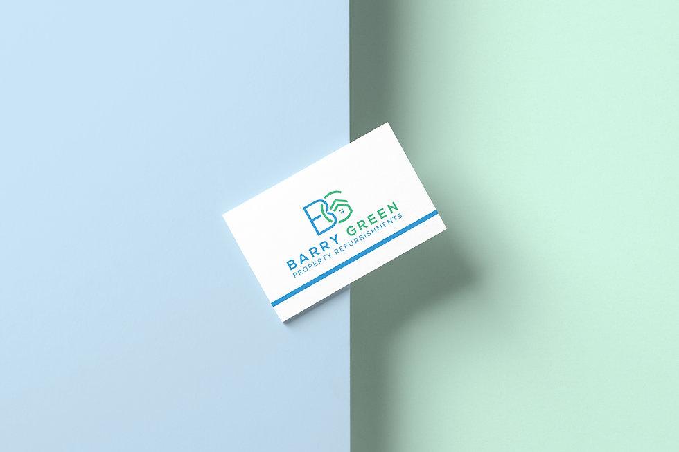 BG Property Refurbishments Business Card