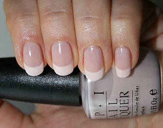 opi french manicure, OPI