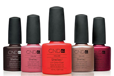 shellac, manicure, pedicure