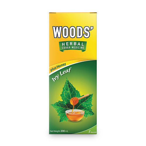 WOODS' HERBALMINT COUGH SYRUP 200ML