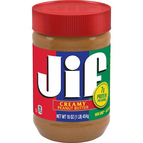 Jif Creamy Creamy Peanut Butter  454g