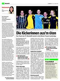 2011 Bericht Bezirkszeitung 6_Kickerinne
