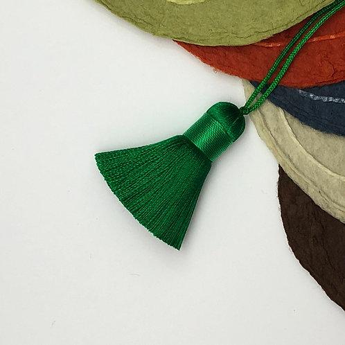 Small Tassel ~ Emerald