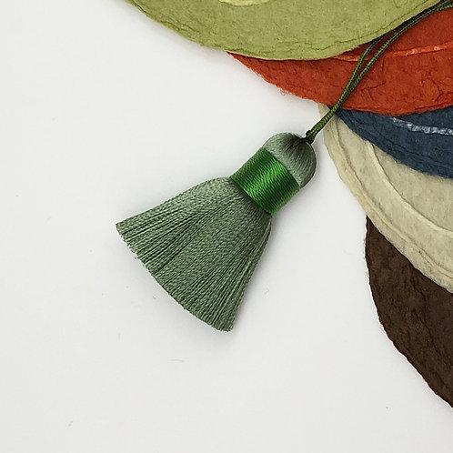 Small Tassel ~ Olive Green