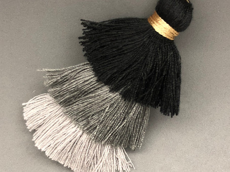 New cotton tassels are added to our online shop