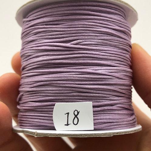 Chinese Knotting Cord ~ Light Purple