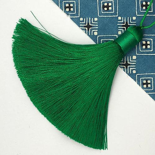 Medium Tassel ~ Emerald