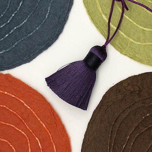 Small Tassel ~ Purple