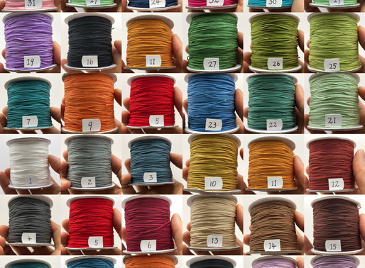 Our Chinese Knotting cord is now available at oriental-artrade.com