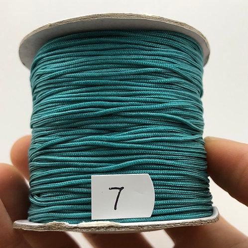 Chinese Knotting Cord ~ Malachite