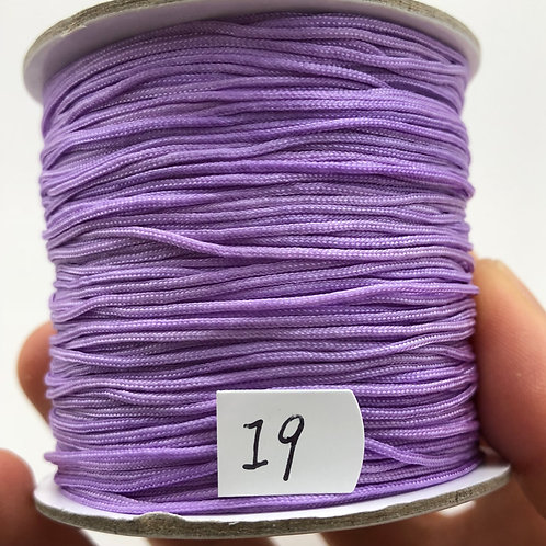 Chinese Knotting Cord ~ Lavender