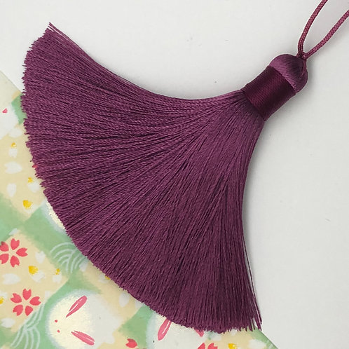 Medium Tassel ~ Wine