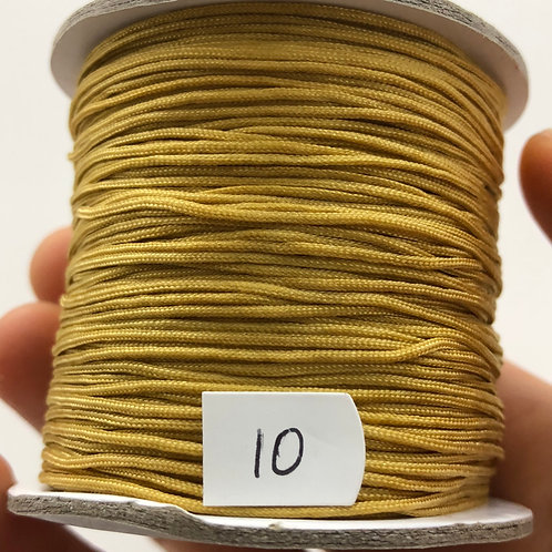 Chinese Knotting Cord ~ Gold Dune