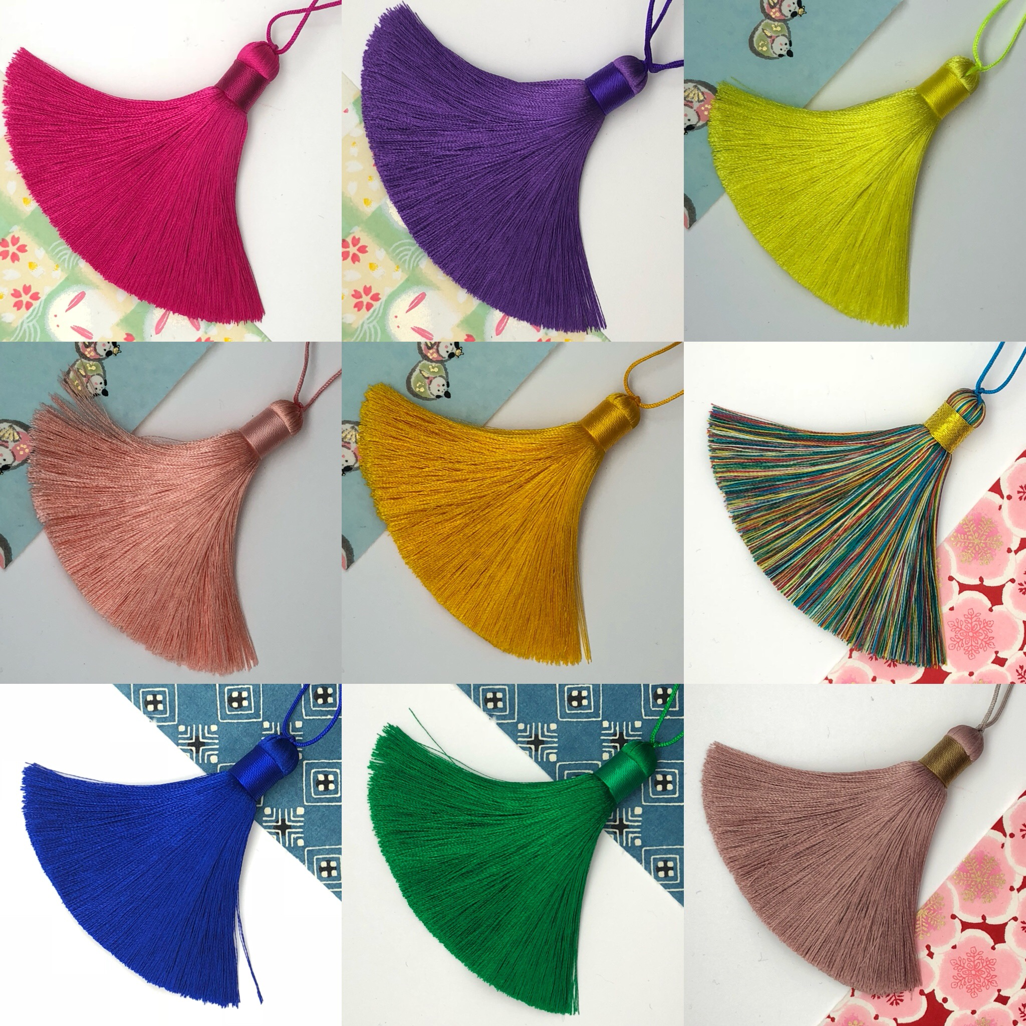 Medium silk tassel