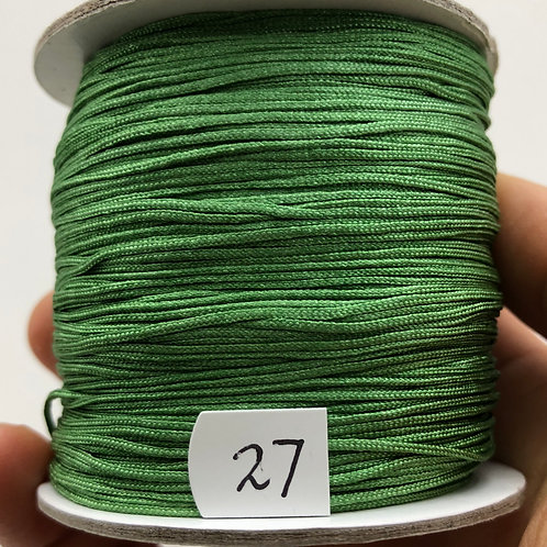 Chinese Knotting Cord ~ Green