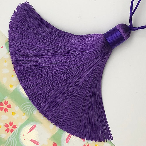 Medium Tassel ~ Amethyst