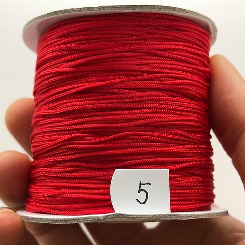 Chinese Knotting Cord ~ China Red