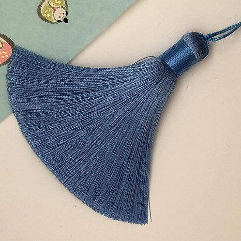 Medium Tassel ~ Sky Blue