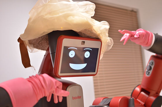 Baxter Project, robot theatre, actor Baxter