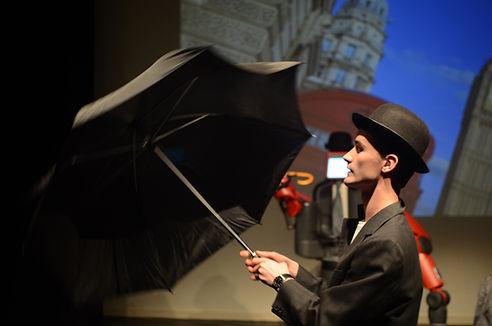 Baxter project, robot theatre, Kjetil Skarstein, actor Baxter
