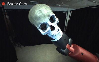 Hamlet, Shakespeare, machine Hamlet, film,Baxter Project, robot theatre, actor Baxter