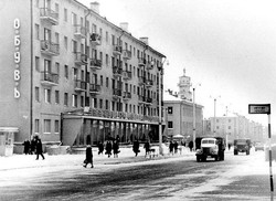 Бульвар Мира 1966 год
