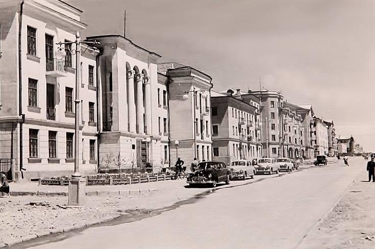 Бульвар Мира в 50-ые годы