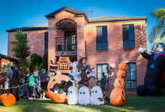 Хэллоуин в Маунт Аннане и не только