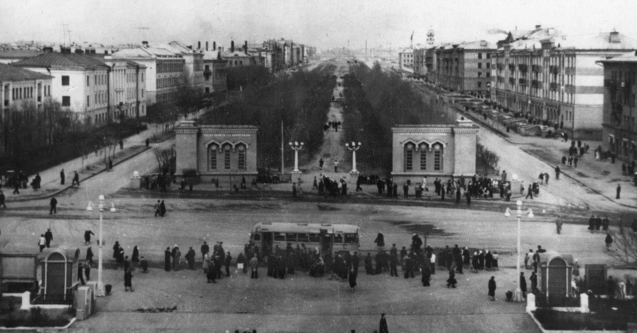 Вид на Бульвар Мира с Летнего театра