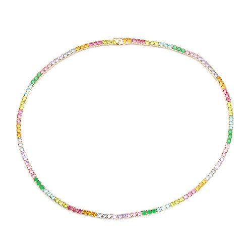 Colar Riviera Rainbow