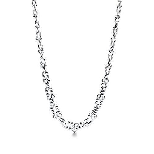 Colar Tiffany Inspired  Elos Prata