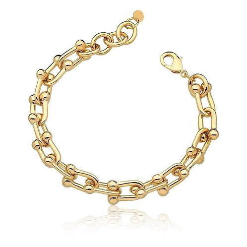 Pulseira Tiffany Inspired Dourada