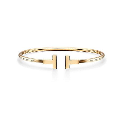 Bracelete Tiffany Inspired Dourado