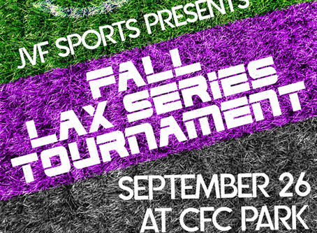 Breaking: CFC Park to host the 2020 Fall Lacrosse Series Tournament September 26th