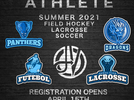 Registration for Dream League, Summer Lax Series, JVF Vipers now open!