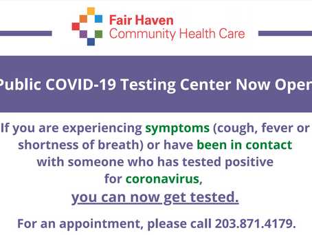 Fair Haven Community Health Care offering CVoid-19 Testing