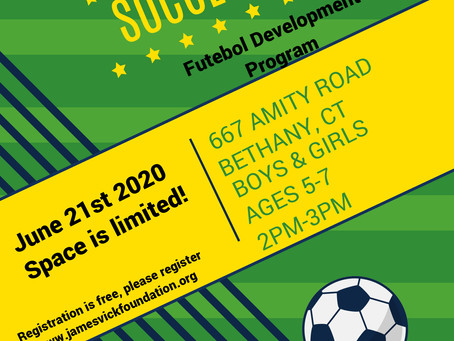 The FDP announces Futebol clinic for players ages 5 to 7!