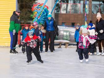 Закрытие зимнего сезона 2015-16 г катания на коньках