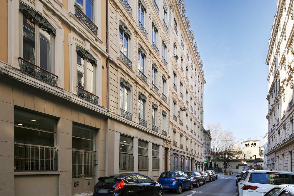 Quartier d'Ainay - Enghien vers Mairie et basilique d'Ainay