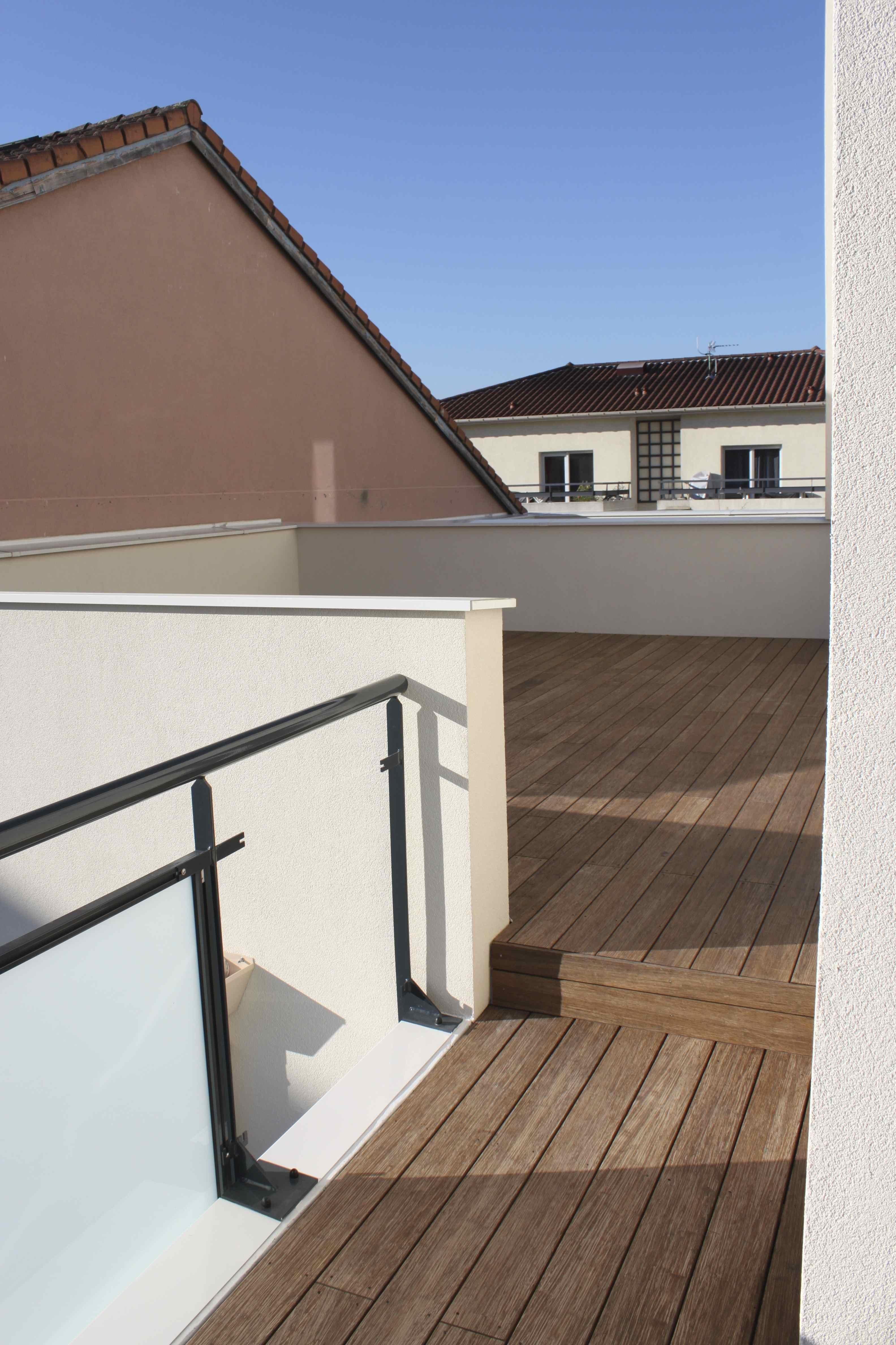 Jonction terrasses