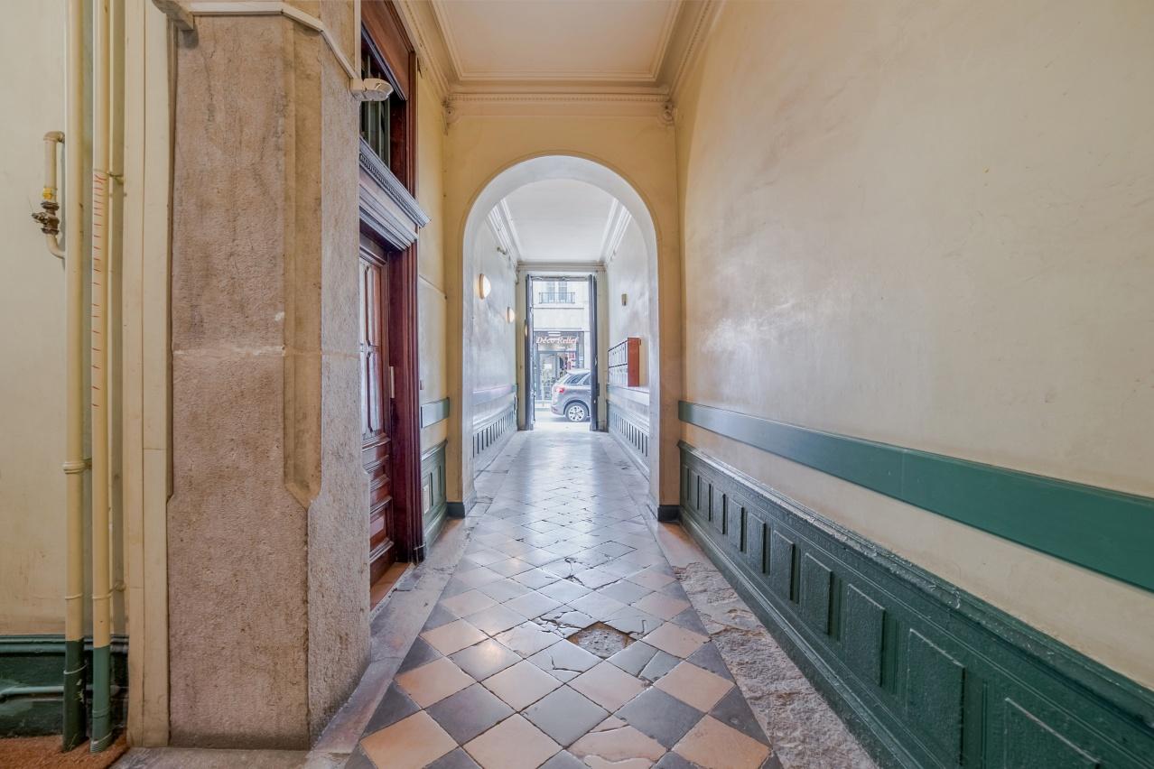 Hall d'entrée des parties communes