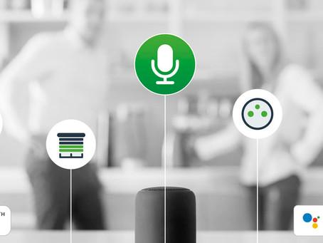 Ecotouch permet le pilotage vocal d'une SmartHome