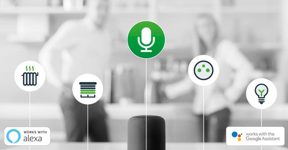 EcoTouch d'OGGA devient compatible avec Alexia et Google Home