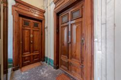 Porte palière du logement