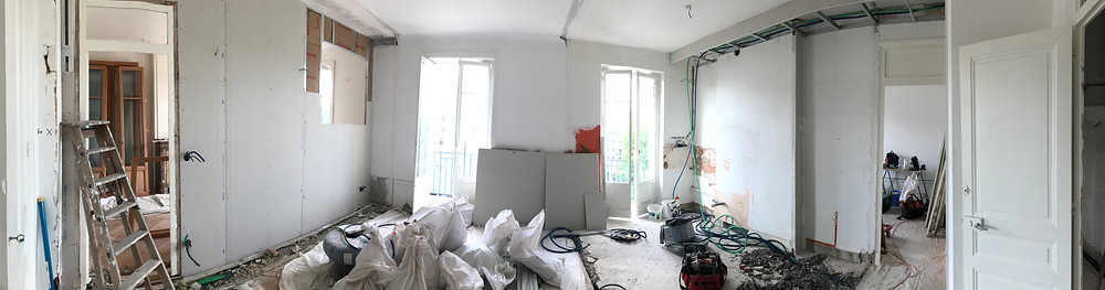 Smart Home T3 Sully phase cloisonnement