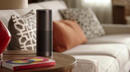 Pilotage vocal de laSmartHome: jetez un oeil aux possibilités d'Amazon-Echo aux US.