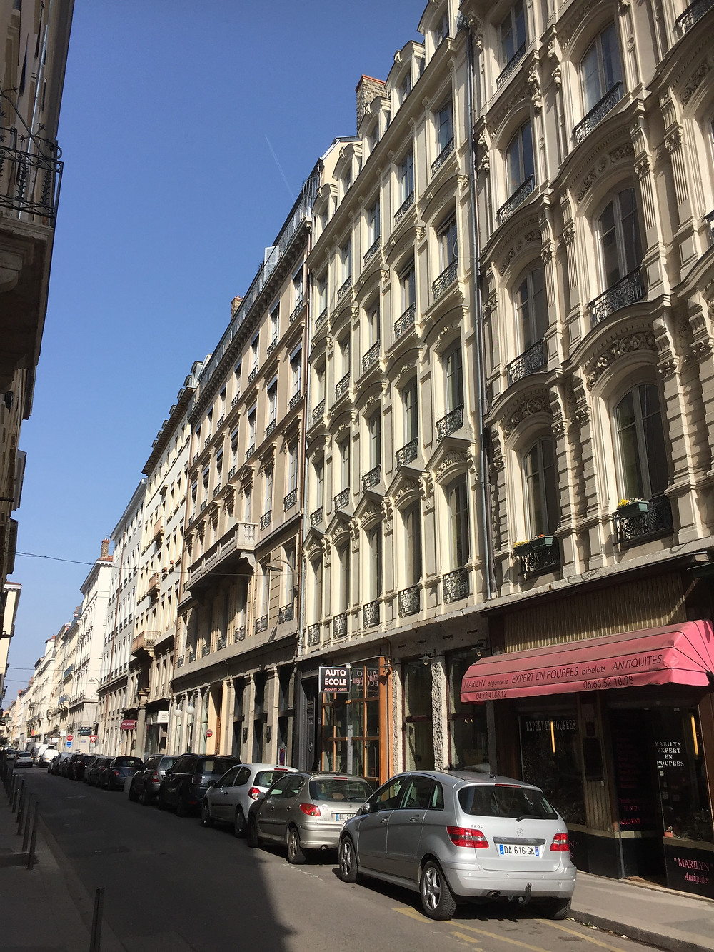 Smart Home Immobilier Conseil, T3 rue Auguste Comte Lyon 2, quartier Ainay