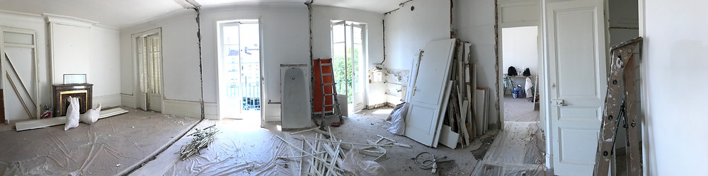 Smart Home T3 Sully phase démolition 2
