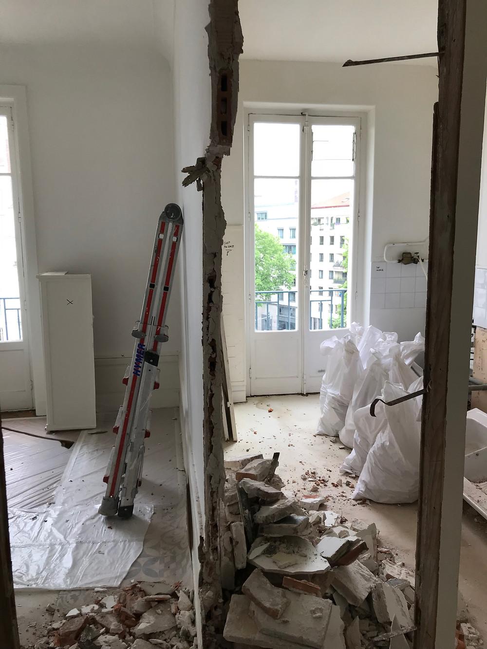 Opération de rénovation Smart Home IC Lyon 6ème (C) 2018